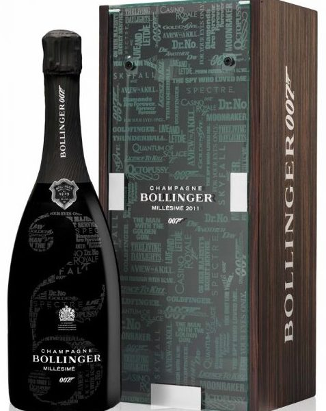 Bollinger James Bond 750 ml with box